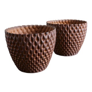 Mid-Century Modern David Cressey for Architectural Pottery Phoenix Planters - a Pair