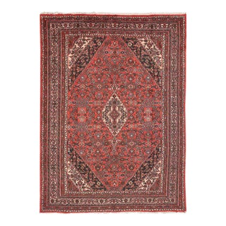 Vintage Hamadan Persian Rug with Traditional Style For Sale