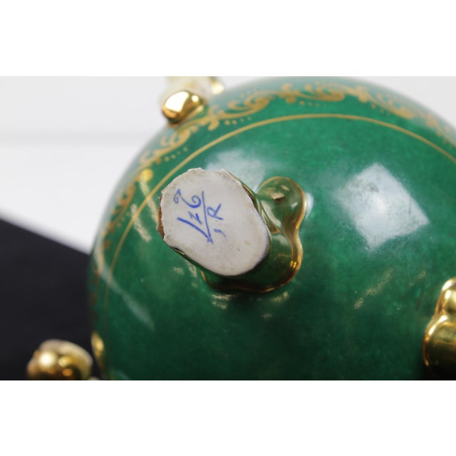 Green Paris Teapot For Sale - Image 8 of 10