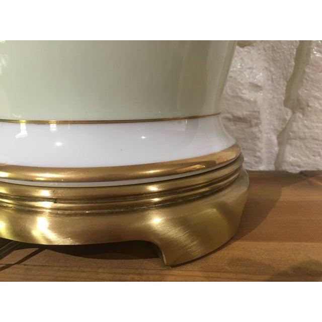 Vintage Frederick Cooper Ginger Jar Lamp For Sale - Image 5 of 5