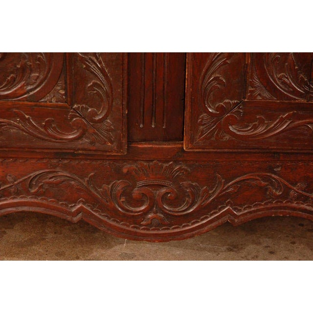 Antique Louis XV Armoire For Sale - Image 10 of 10