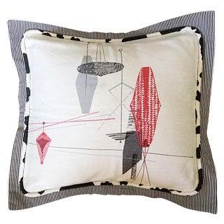 Midcentury Decorative Pillow Sham For Sale