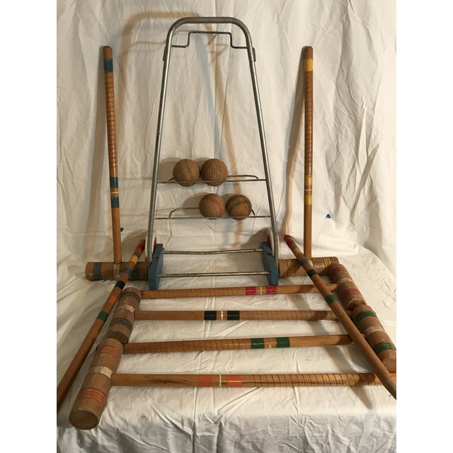 1950's Croquet Game Set For Sale - Image 9 of 11