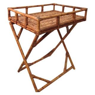 Island Style Side Table Bar