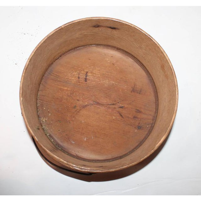 Wood Group of Two 19th Century Bail Handled Pantry Boxes from New England For Sale - Image 7 of 10