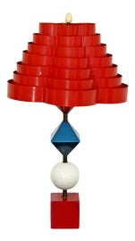 Image of Red Table Lamps