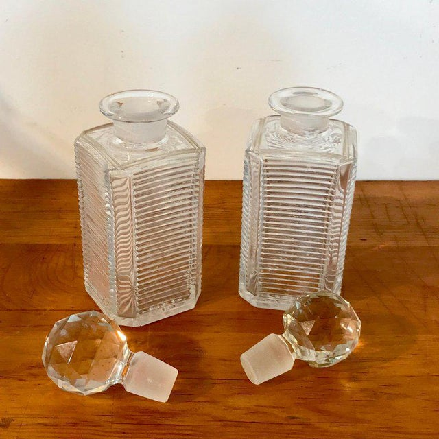 Mid 19th Century Mappin Bros. Diminutive Tauntless With Cut Glass Decanters For Sale - Image 5 of 13