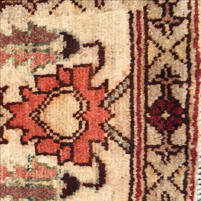 Sultanabad Persian Rug - 1′4″ × 1′11″ - Image 7 of 10