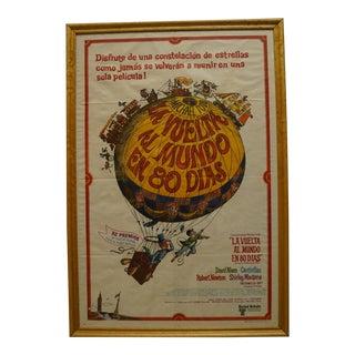 "1956 ""La Vuelta Al Mundo en 80 Dias"" Cantinflas Poster For Sale"