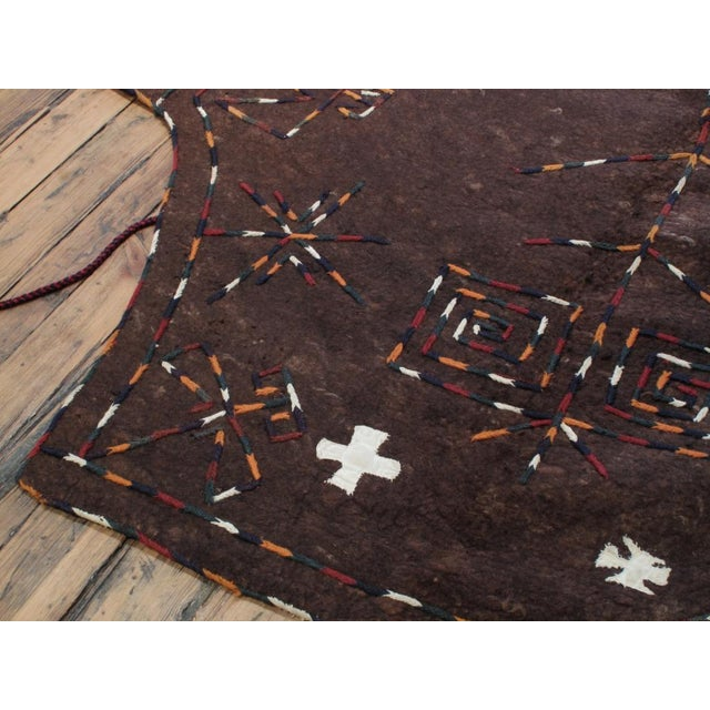Brown Ceremonial Camel Cover For Sale - Image 8 of 10