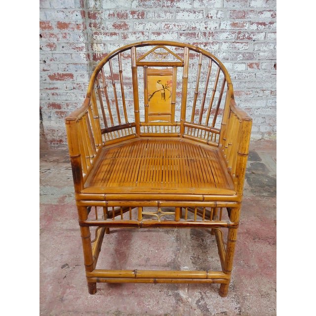 Brighton Pavilion Chinoiserie Chippendale Bamboo Armchairs Circa 1920s - A Pair For Sale - Image 4 of 10