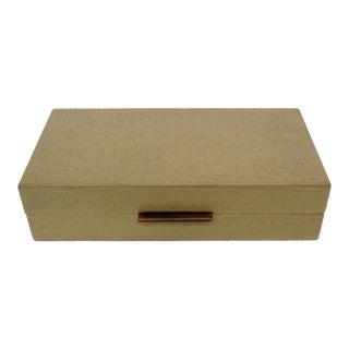 Blonde Walnut Wood Box