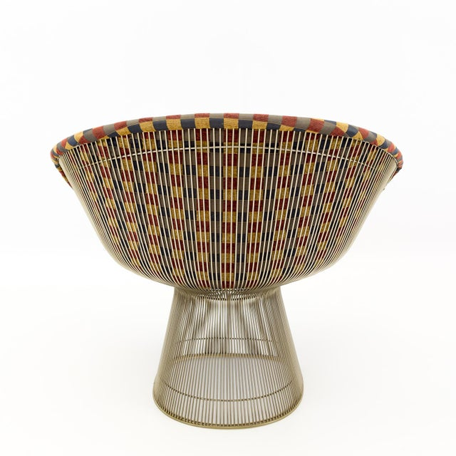 Mid Century Modern Warren Platner Lounge Chairs - a Pair For Sale In Chicago - Image 6 of 9
