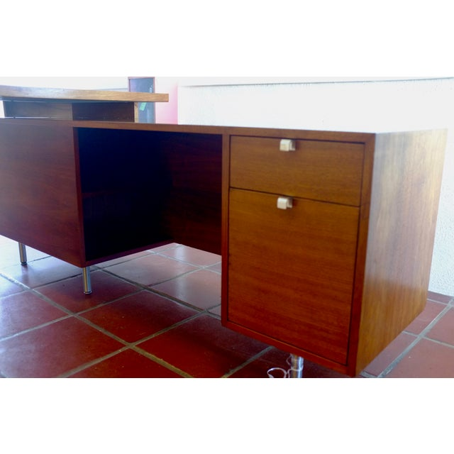 Mid 20th Century Herman Miller / George Nelson Executive Office Group Desk For Sale - Image 5 of 11