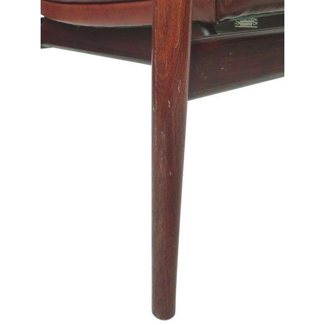 Mid-Century Rosewood Armchairs by Arne Vodder - A Pair - Image 9 of 10
