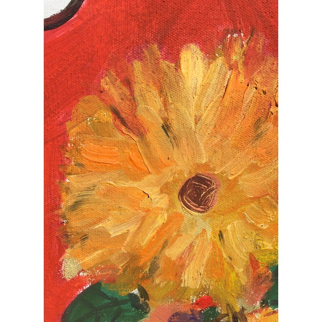 2010s 'Still Life' Oil and Acrylic Painting by Sean Kratzert For Sale - Image 5 of 8