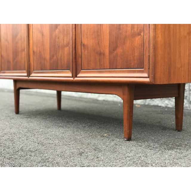 Mid Century Modern Drexel Declaration Wall Unit For Sale In Tampa - Image 6 of 13