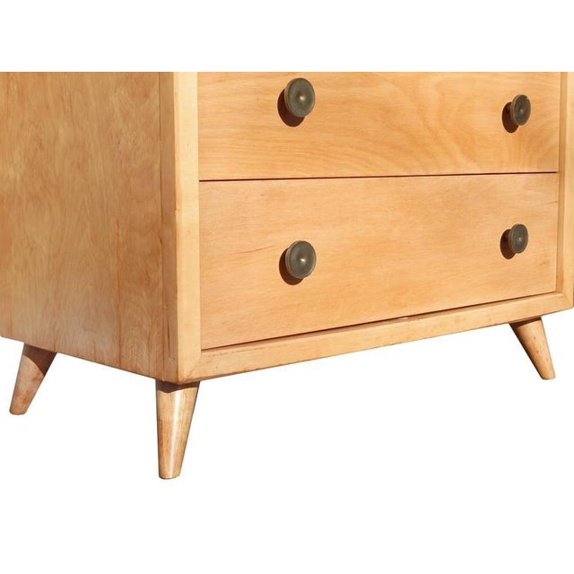 Wood Pair of Mid-Century Dressers For Sale - Image 7 of 10
