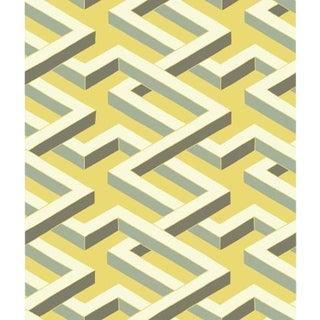 Cole & Son Luxor Wallpaper Roll - Green For Sale