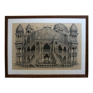 1980s Original David Schofield Drawing For Sale