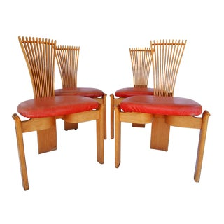 Torstein Nilsen Totem Chairs - Set of 4 For Sale