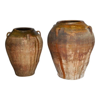 19th Century Large Scale Spanish Pots For Sale