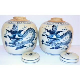 Chinoiserie Ginger Jars- a Pair Preview