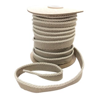 "Indoor/Outdoor 1/8"" Cream Color Cable Cord Trim For Sale"