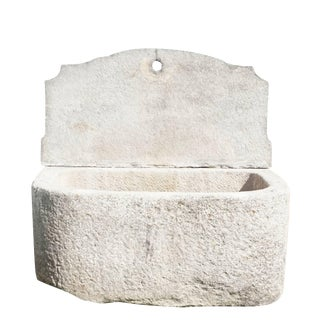 Early 19th Century Antique Sicilian Granite Wall Fountain For Sale