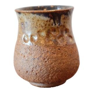 Textured Glaze Studio Pottery Ceramic Stoneware Vessel