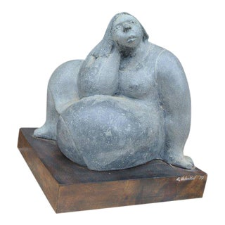 """Woman"" Sculpture by Eduardo Valentin For Sale"