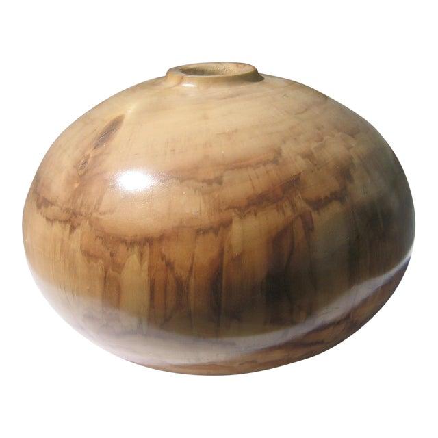 Turned Cottonwood Vase - Image 1 of 4