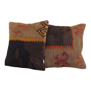 Decorative Handmade Pillow Covers - A Pair For Sale