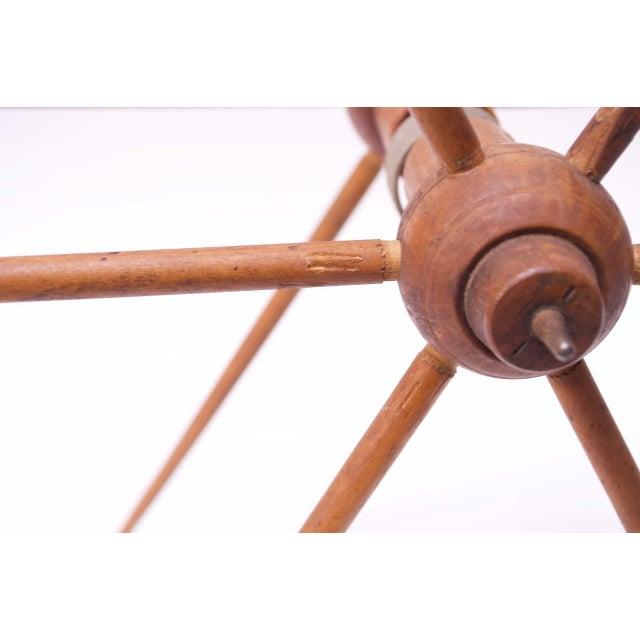 Vintage Primitive Yarn Winder / Yarn Swift For Sale - Image 11 of 13