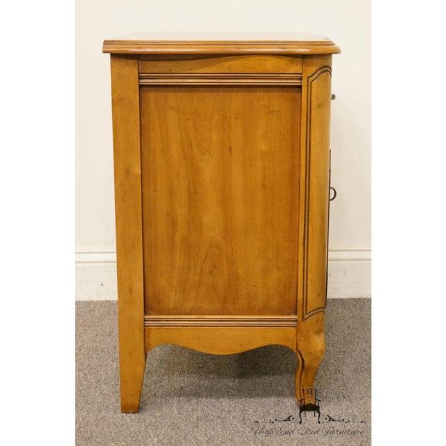 Morganton Furniture Country French Cabinet Door Nightstand