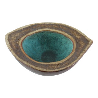 Azure Eye Decorative Ceramic Bowl For Sale
