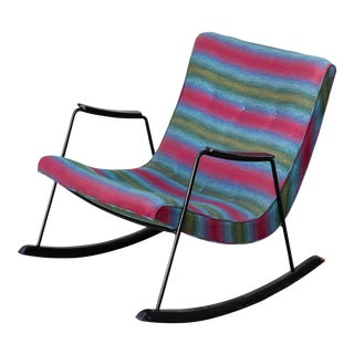 Milo Baughman Scoop Rocker For Sale