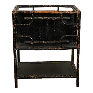 Victorian Bamboo Magazine Rack For Sale