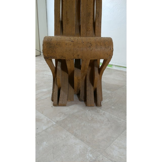 Paper Vintage Cardboard Chair, 1970s For Sale - Image 7 of 11