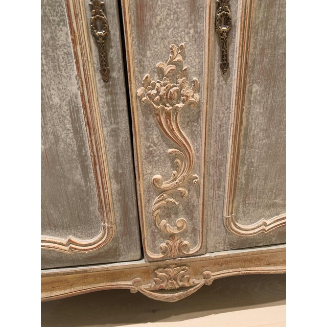 Brown 18th Century Antique French Cabinet For Sale - Image 8 of 13
