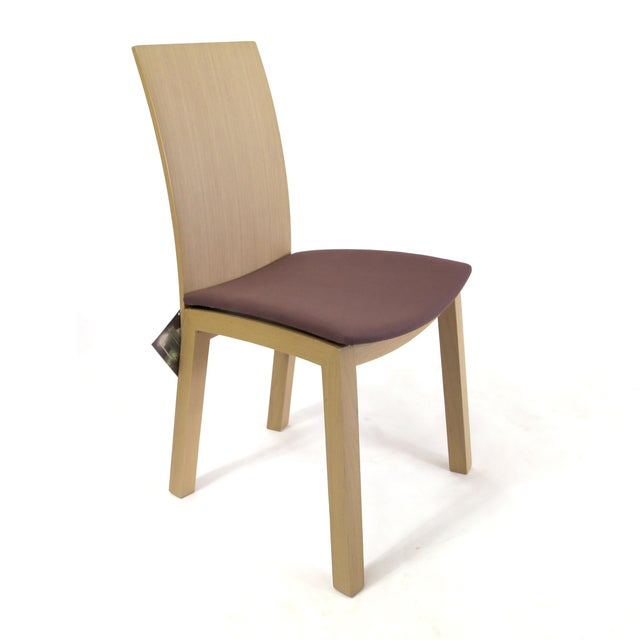 Idealsedia Italian Made Post Modern Side Chairs - a Pair For Sale - Image 9 of 13