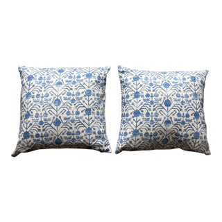 Zak & Fox Khotan Pillows - A Pair For Sale