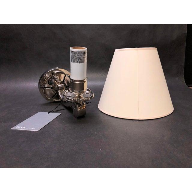 "Circa Lighting/Visual Comfort Alexa Hampton ""Bing"" Single Arm Sconce For Sale In Washington DC - Image 6 of 6"