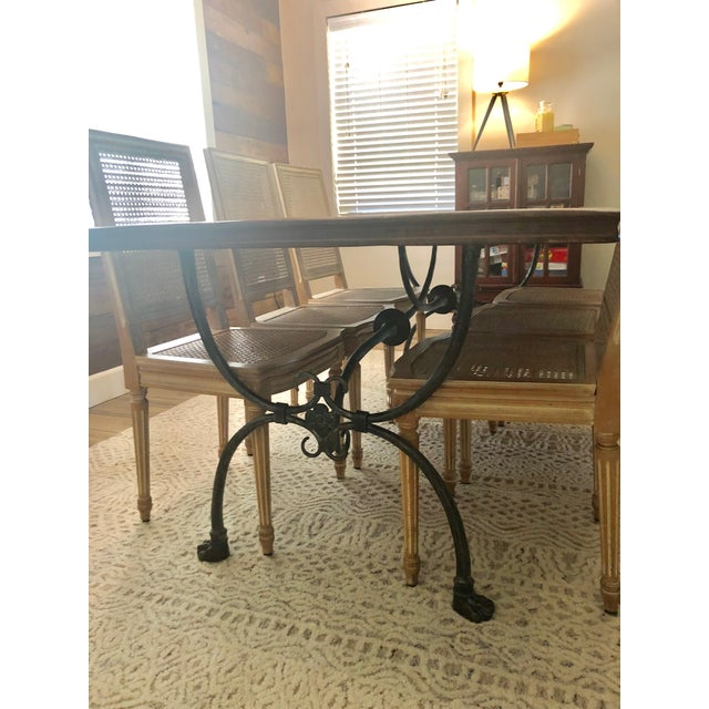 Farmhouse Farmhouse Theodore Alexander Dining Table For Sale - Image 3 of 13