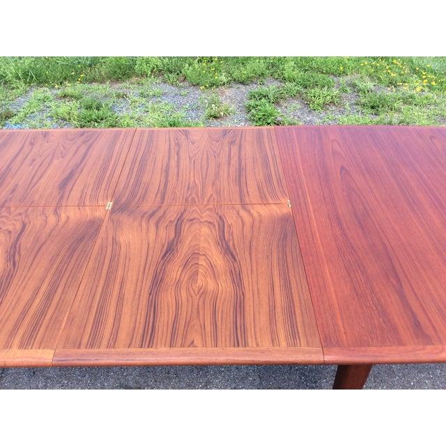 Refurbished Falster Teak Dining Table - Image 9 of 11