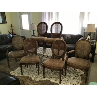 Louis XVI Style Henredon Cane Dining Chairs - Set of 6 Preview