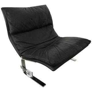 "Giovanni Offredi ""Onda"" Postmodern Wave Lounge Chair for Saporiti For Sale"