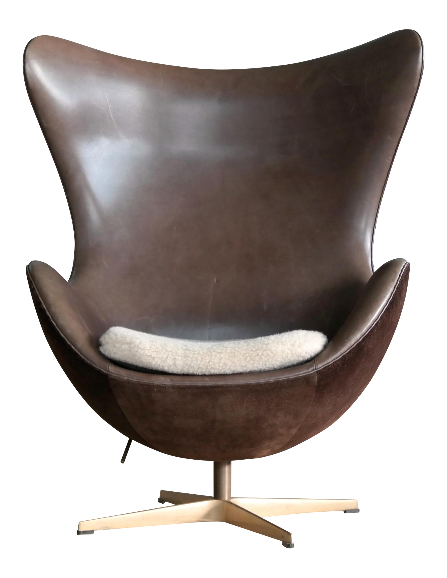 Golden Egg Chair Special Anniversary Edition By Fritz Hansen For Sale