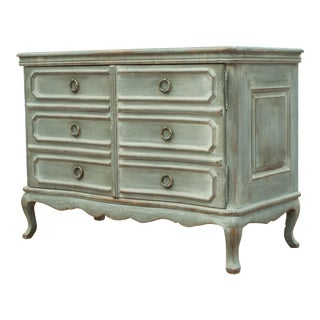 Sarreid Ltd. Serpentine French Commode For Sale