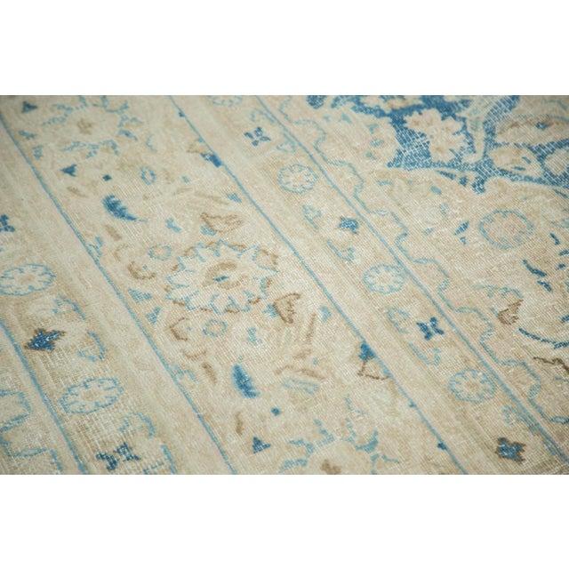 "Textile Vintage Distressed Meshed Carpet - 9'9"" x 12'10"" For Sale - Image 7 of 9"